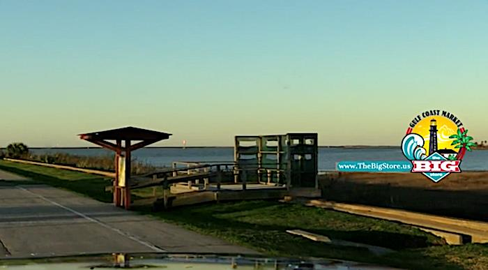 A Morning View Over Galveston Bay From Fort Travis On Bolivar Peninsula!