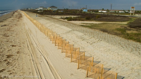 Bolivar Peninsula Dune Project From Above.