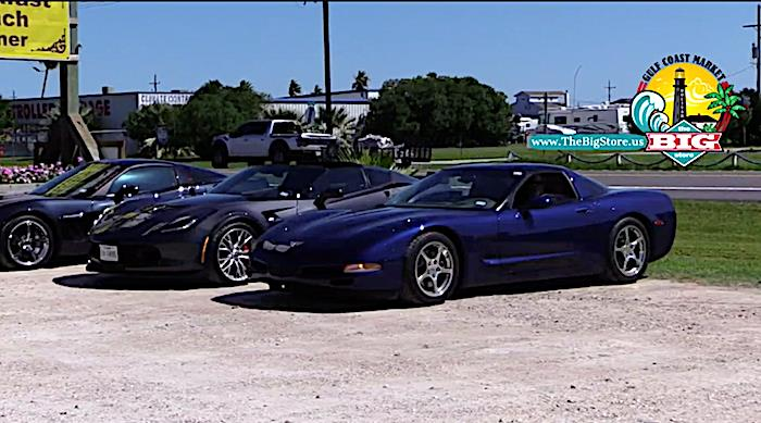Corvettes, Corvettes and More Corvettes at Jose's In Crystal Beach Tx.