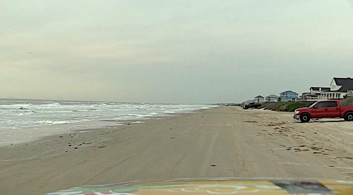 Saturday Morning Drive Beachfront With Bolivar LIVE In Crystal Beach, Texas!