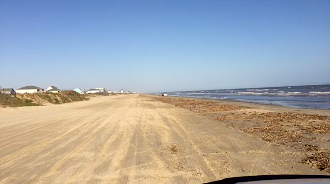 VIDEO: An Afternoon Drive In Crystal Beach