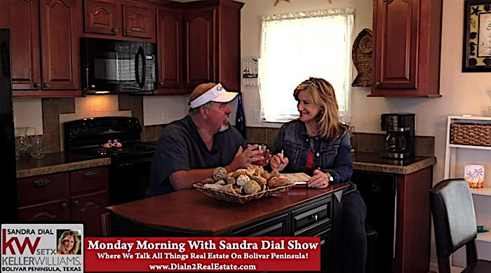 Welcome To The Monday Morning With Sandra Dial Show, From Crystal Beach Tx..